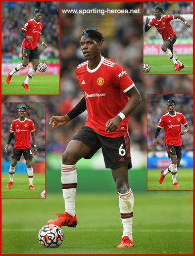 Paul POGBA - Manchester United - Premier League Appearances