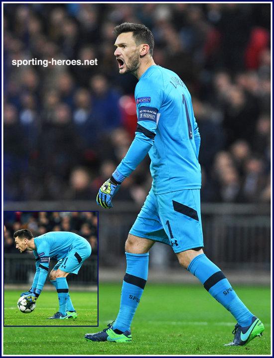 Hugo LLORIS - 2016 17 Champions League. - Tottenham Hotspur FC 26f05590e