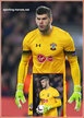 Fraser FORSTER - Southampton FC - 2016/17 UEFA Europe League.
