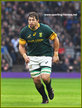 Willem ALBERTS - South Africa - International rugby union caps 2015-2016