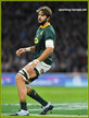 Lood de JAGER - South Africa - International rugby union caps.