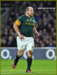 Lourens ADRIAANSE - South Africa - International Rugby Union Matches.