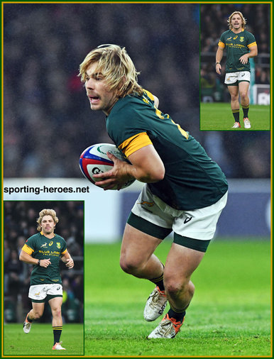 Faf de KLERK - South Africa - International rugby caps for S.A.