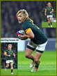 Faf de KLERK - South Africa - International Rugby Union Caps.