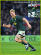 Pieter-Steph du TOIT - South Africa - International Rugby Union Caps.