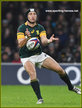 Johan GOOSEN - South Africa - International Rugby Union Caps.