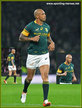 Lionel MAPOE - South Africa - International rugby caps for S.A.