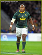 Bongi MBONAMBI - South Africa - International  Rugby Union Caps.