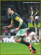 Franco MOSTERT - South Africa - International Rugby Union Caps.
