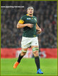 Francois LOUW - South Africa - International rugby caps 2015-