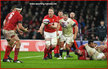 Bradley DAVIES - Wales - International Rugby Caps 2015 -