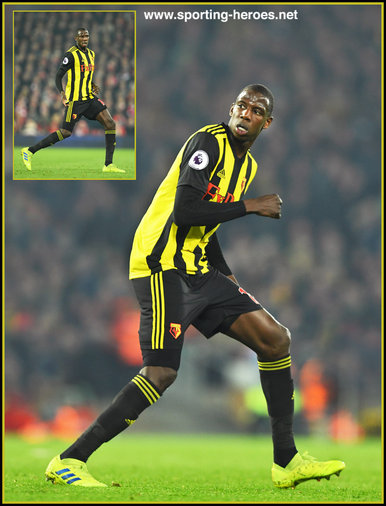 Abdoulaye DOUCOURE - Watford FC - Premier League Appearances