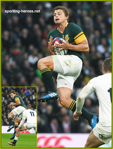 Patrick Lambie - South Africa - International rugby caps 2015 -
