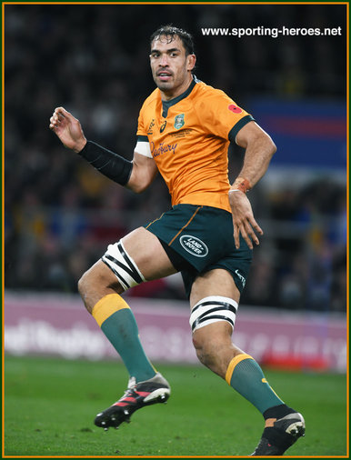 Rory ARNOLD - Australia - International rugby matches.