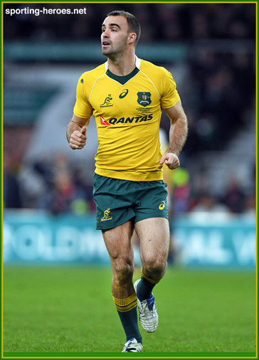 Nick FRISBY - Australia - International Rugby Union Caps.