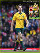 Dane HAYLETT-PETTY - Australia - International rugby matches.