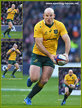 Stephen MOORE - Australia - International rugby union caps 2014 - 2017.