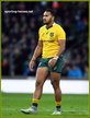 Sefa NAIVALU - Australia - International rugby matches.