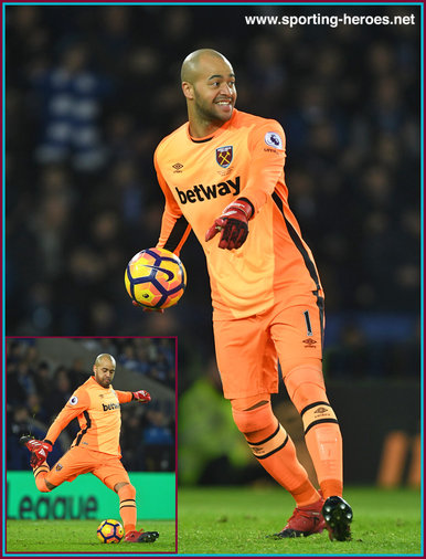 Darren RANDOLPH - West Ham United FC - League Appearances