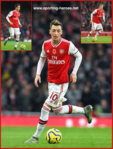 Mesut Ozil - Arsenal FC - Premier League Appearances