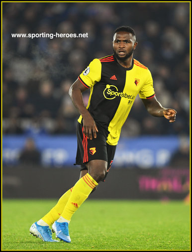 Isaac SUCCESS - Watford FC - League Appearances