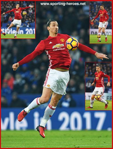 Zlatan Ibrahimovic - Manchester United FC - Premier League Appearances