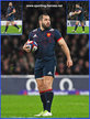 Jean-Marc DOUSSAIN - France - International rugby caps for France.