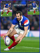 Camille LOPEZ - France - International rugby matches.