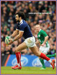 Yoann HUGET - France - International Rugby Caps. 2010 - 2013