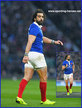 Yoann HUGET - France - International Rugby Caps. 2016 -