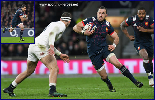 Scott SPEDDING - France - International Rugby Caps. 2017 -