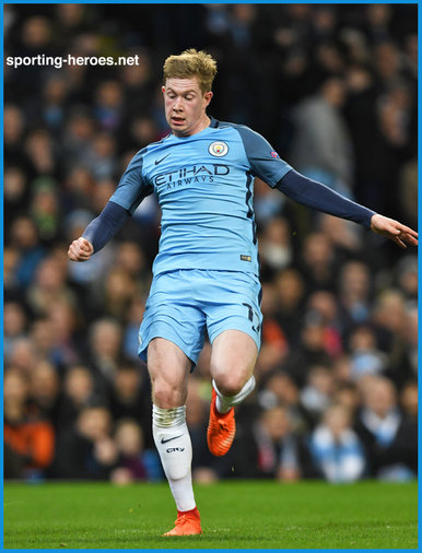 Kevin De BRUYNE - Manchester City FC - 2016/17 Champions League. Knock out games.