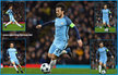 David SILVA - Manchester City FC - 2016/17 Champions League. Knock out games.