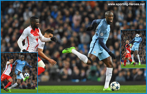 Yaya Toure - Manchester City FC - 2016/17 Champions League. Knock out games.