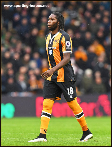 Dieumerci Mbokani - Hull City FC - Premier League Appearances