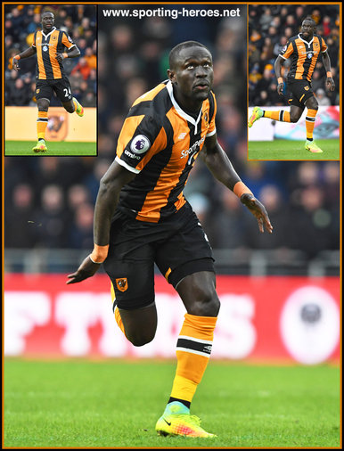 Oumar NIASSE - Hull City FC - League Appearances