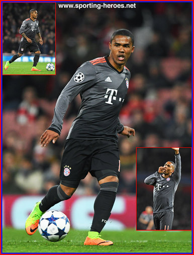 Douglas Costa - Bayern Munchen - 2016/17 Champions League. Knock out games.