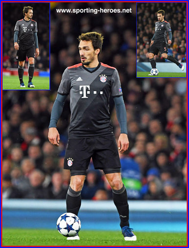 Mats HUMMELS - Bayern Munchen - 2016/17 Champions League. Knock out games.