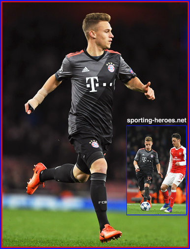 Joshua KIMMICH - Bayern Munchen - 2016/17 Champions League. Knock out games.