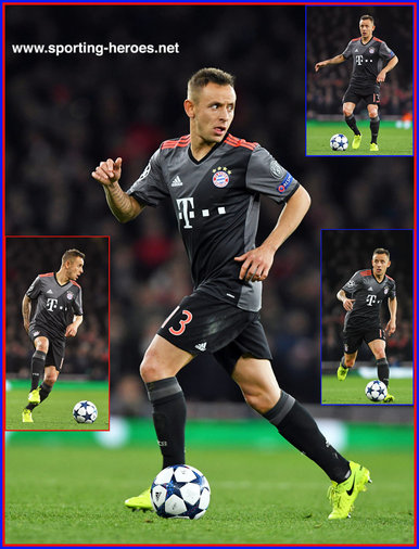 Rafinha - Bayern Munchen - 2016/17 Champions League. Knock out games.
