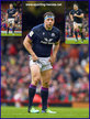 Hamish WATSON - Scotland - International rugby matches.