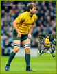 Ben McCALMAN - Australia - International rugby caps 2010-2013.