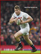 Dylan HARTLEY - England - International rugby caps 2016 - 2018.