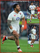 Manu TUILAGI - England - International rugby caps.
