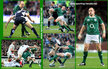 Rory BEST - Ireland (Rugby) - International rugby caps. 2005-2009.