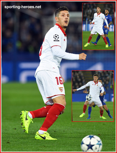 Stevan Jovetic - Sevilla - 2016/17 Champions League. Knock out games.