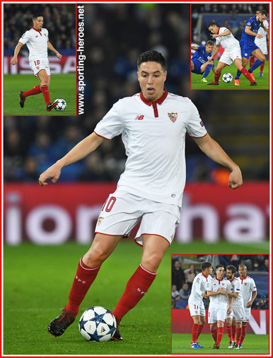 Samir NASRI - Sevilla - 2016/17 Champions League. Knock out games.