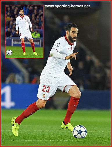 Adil Rami - Sevilla - 2016/17 Champions League. Knock out games.