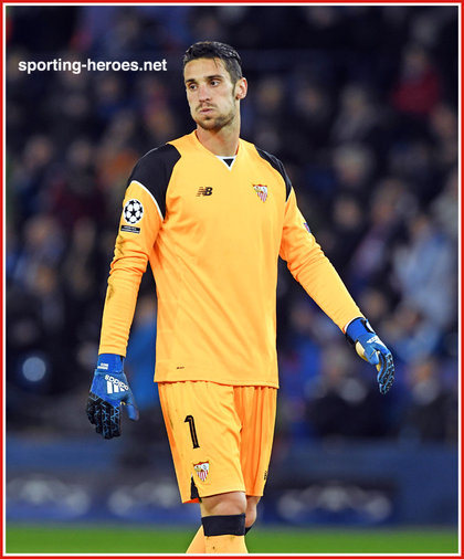 Sergio RICO - Sevilla - 2016/17 Champions League. Knock out games.