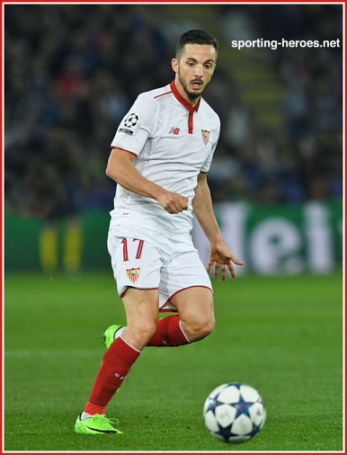 Pablo SARABIA - Sevilla - 2016/17 Champions League. Knock out games.